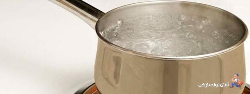 رفع گرفتگی لوله فاضلاب آشپزخانه