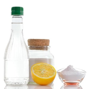 رفع گرفتگی لوله فاضلاب با جوش شیرین و سرکه و لیمو